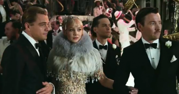 Screen shot 2012 05 23 at 9.31.52 AM 690x364 The Great Gatsby Movie Trailer Looks Stylishly Epic [Video]