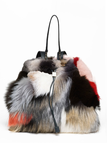 olsen twins fur bag